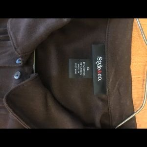 Style & Co Tops - Brown Style & Company